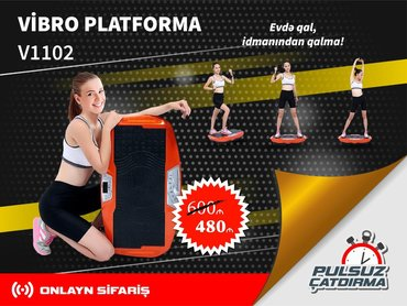 Vibro Platforma Endirimli Nəğd QiymətəCəmi 480 aznRəsmi Zəmanət +