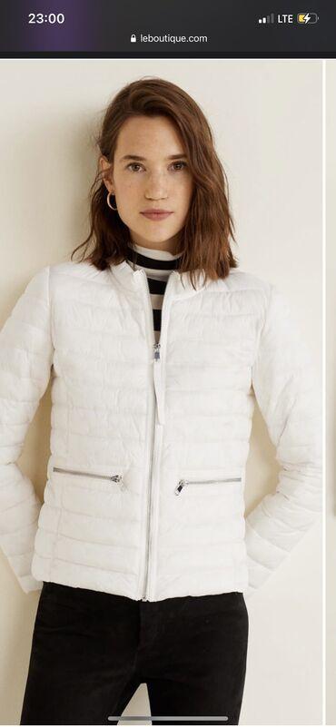 Новая куртка Манго на весну, заказывала себе не подошёл размер ( талия