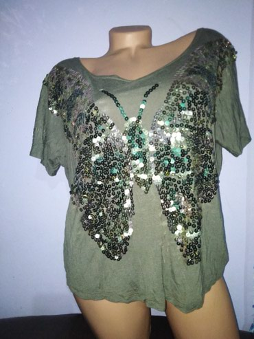Leptir masna - Srbija: Laura kent markirana predivna viskozna majica elegantna, može biti i