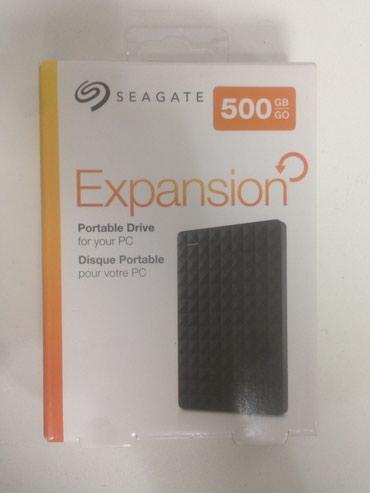 Sərd disk 500 gb seagate yeni xarici sərd disk в Bakı
