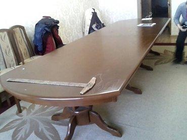 столы. размер от 2,5 м до 5 м. в Бишкек