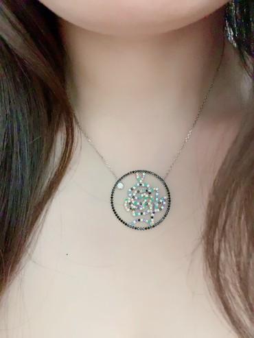 Колье - Кыргызстан: Серебряное Колье Роза   Самый лучший подарок для ваших любимых  Италья