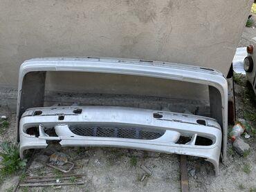 Бампера задний и передний, Мерседес 210 кузов миллениум, без накладок