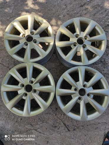 r14 диски в Кыргызстан: Продаю титановые оригинал диски от Hyundai gets, honda fit . Размер