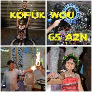 kopuk sou qiymeti - Azərbaycan: Tədbirlərin təşkili | Şarlar, Klounlar, Köpük şou