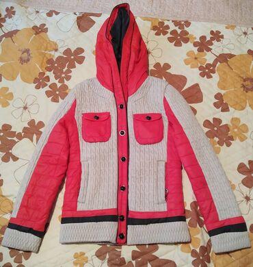 детская осенняя одежда в Кыргызстан: КЛАССНАЯ ДЕТСКАЯ КУРТКА!ДЕМИСЕЗОННАЯ КУРТКА НА ДЕВОЧКУ 9-10 ЛЕТ!