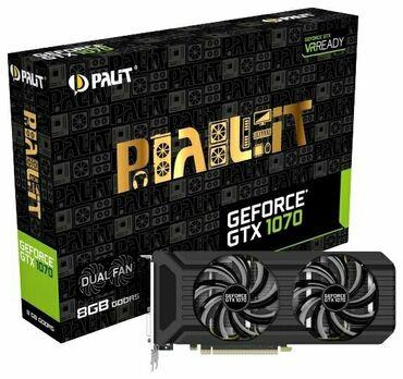 Продаю видео карта GTX1070 palit dual, чип оригиналь от самсунг