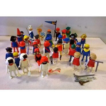 Παιχνίδια σε Αθήνα: 34 playmobil + αξεσουάρ δώρο ( δεκαετία 1970 )