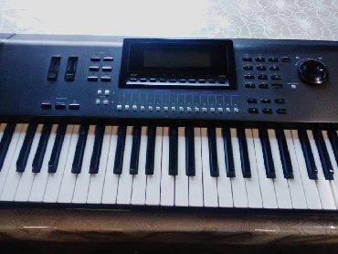 Синтезаторы - Бишкек: Продаю Yamaha W7 рабочая станция на основе AWM2 синтеза, 61 клавиша с