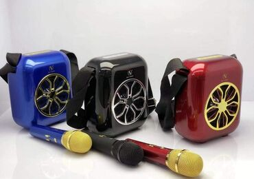 Портативное караоке с микрофоном(колонка+миркофон)