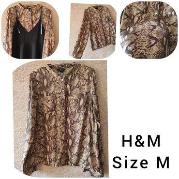 Köynək H&M. Сорочка марки H&M. M размер. Два раза надето