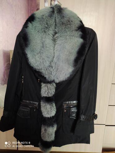 Женская одежда - Арашан: Куртка женская воротник отличный натуралка писец цена договорная. б/у