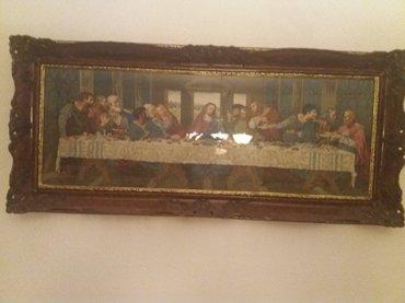 """Vilerov goblen """"tajna vecera"""" dimenzija sa ramom 66x150cm - Sombor"""