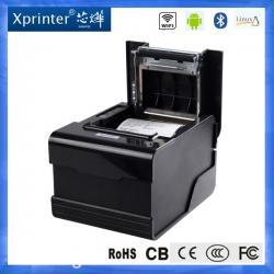 Принтер чеков XPrinter C260Nподходит для работы в пунктах с