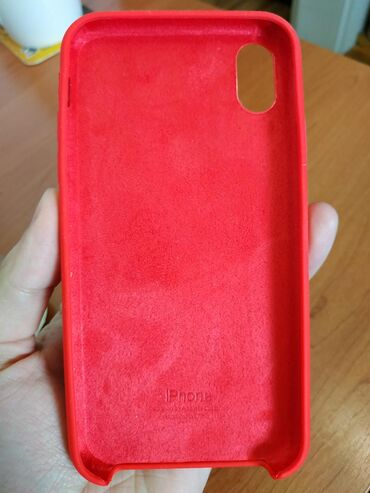 IPhone XR case siliconska maska futrola crvenaMaska je odlicnog