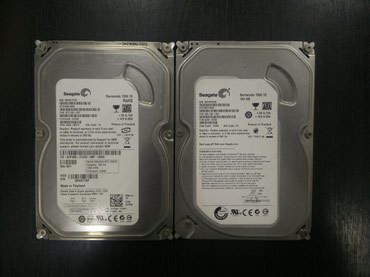 Жесткий диск Seagate 160GB 8MB cashe, 7200 RPM, SATA 3.0, в Бишкек