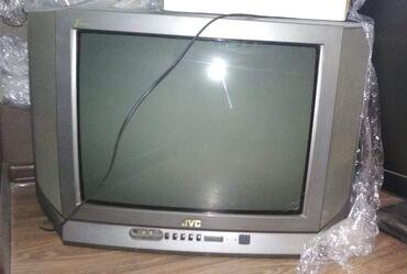 Продается телевизор JVC с трубкой в рабочем состоянии, цветной