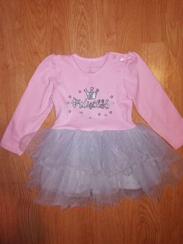 Haljinica za male princeze jednom obucena vel 80