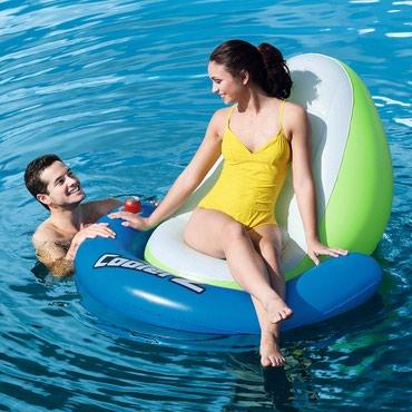 Hava döşəməsi - Azərbaycan: Bestway Suyun Lounge Dəniz Yatağı 43136 * Ölçülər: 150cm x 140cm *