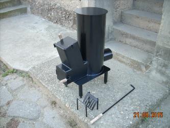 Pec - Srbija: Raketna Pec Profi ( Za Grejanje )Raketna Pec je izradjena od kutije