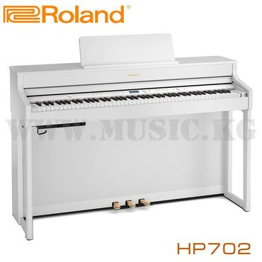 пианино бишкек in Кыргызстан | ПИАНИНО, ФОРТЕПИАНО: Цифровое пианино roland hp 702-wh set пианино серии hp -