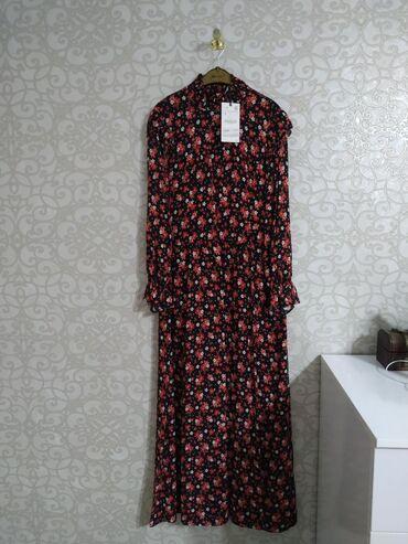 платье из штапеля большого размера в Кыргызстан: Платье Свободного кроя Zara S