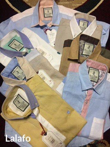 Рубашка мужской турецкий, материал леон в Бишкек