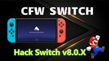 Прошивка консоли nintendo switch(прошивка для скачки игр за бесплатно