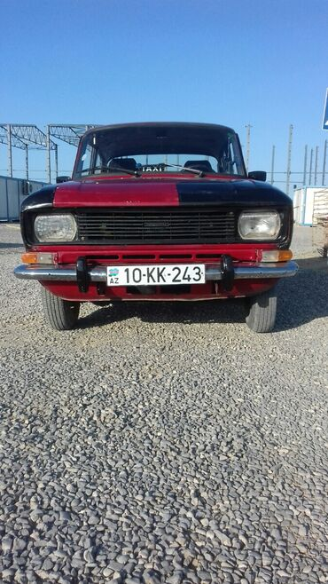 moskvic - Azərbaycan: Moskviç 2140 1.5 l. 1986 | 54245 km