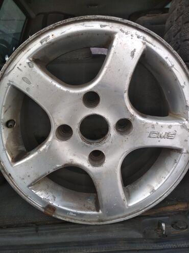 куплю диски на 14 в Кыргызстан: Продаю диски комплект на 14 стояли на Мицубиси вагон