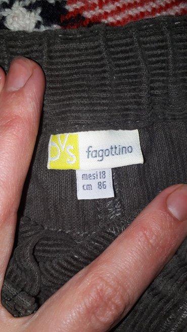Вельветовые джинсы 1. 6- 2. 6года италия в отличном  состоянии. in Бишкек