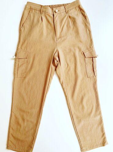Personalni proizvodi | Bor: Waikiki visoki struk baggy pantalone, s/36, imaju zanimljive dugmiće u