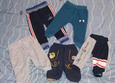 Спортивные штанишки. Состояние хорошее. Размеры 3-9 мес. по 50 сом в Бишкек
