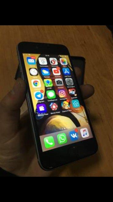 Iphone 6 16gb комплект: телефон два провода зарядки (оригинал+remax) н в Бишкек