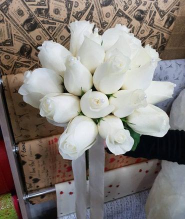Свадебный букет! Салон Цветов Фикус в Бишкек