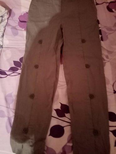 P. S. pantalone maslinasto zelene, 38
