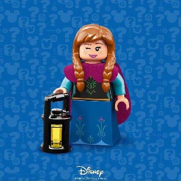 - Azərbaycan: Lego Disney Mini figures Anna Лего Дисней мини фигуры Анна