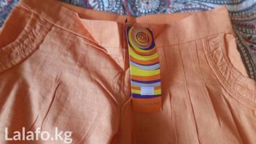 Летние льняные брючки 44-46 размер в Бишкек