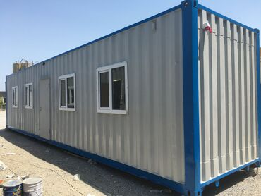 konteyner ofis - Azərbaycan: 40 ft Ofis tipli konteyner satishi. (12m*2.4m)Uzunluq: 12mEn