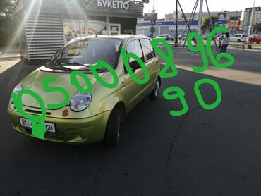 daewoo matiz 2 в Кыргызстан: Daewoo Matiz 0.8 л. 2012 | 314415 км