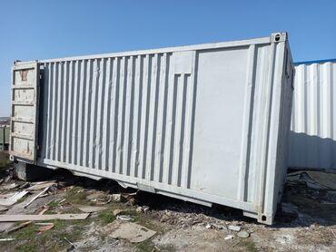 Услуги - Джейранбатан: Salam 6 metrlik konteynerdi əla vəzyətdədi curuyu yoxdu masina gedir
