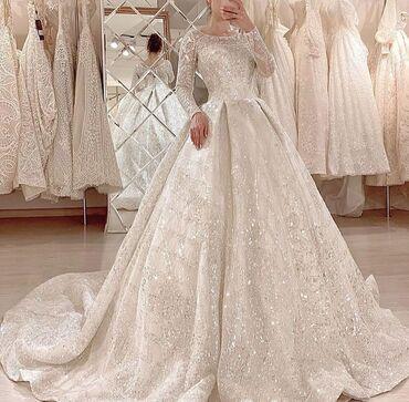 бу свадебное платье в Кыргызстан: Свадебные платья от 8000с на прокат. Фата, бижутерии, букет в