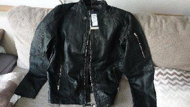Muška odeća | Stara Pazova: Nova original kožna jakna Jack Jones XL nenosena prava koza nije