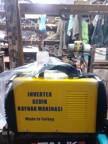 Arqon qaynaq aparati - Азербайджан: Svarka (qaynaq) aparatı İnverter Gedik türk malı 220 volt