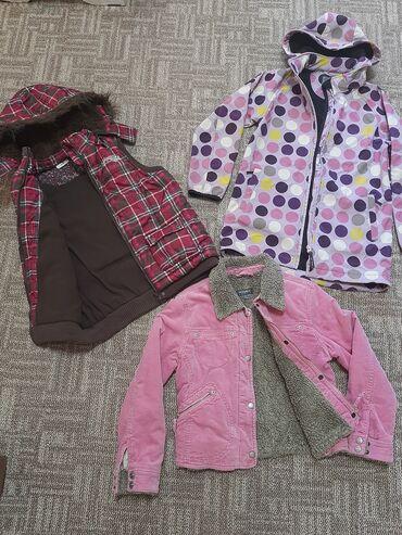 Фирменные курточки на девочку 8,9л. Все в идеальном состоянии, замки
