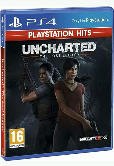 Uncharted The Lost Legacy - PlayStation Hits