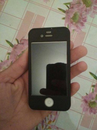 Kürdəmir şəhərində Iphone 4s 16 gb yaxwi vezyetde tek adaptiri var bidene cekdiyin vdyonu