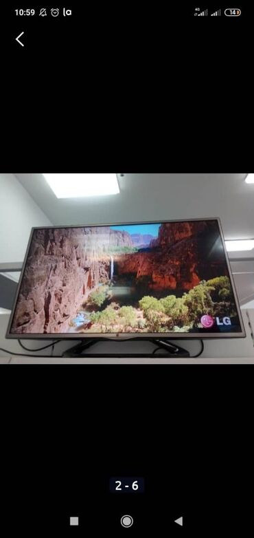 full hd videokamery в Кыргызстан: Телевизор LG 43 дюйм 109см full Hd, dvb-t2, dvb-s2, usb, HDMi