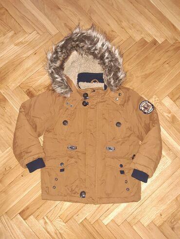 Ruska kapa - Srbija: Moderna zimska jakna za decake u super stanju.Velicina 110.Pogledajte