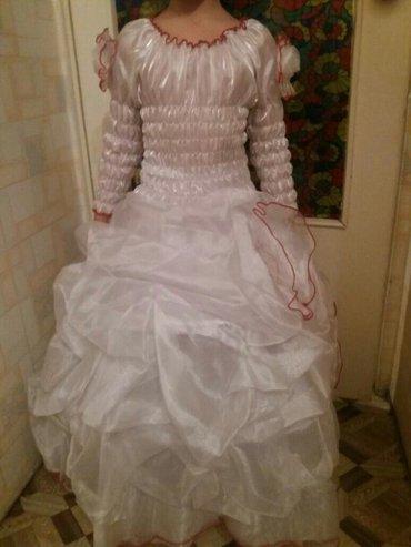 Платье бальной детское на девачку на 8--11 лет подойдет в Бишкек
